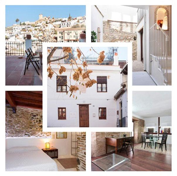 Varias fotografías de una de las viviendas en Granada de tu Anfitrion para el alquiler vacacional en Booking